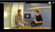 McMaster University Students demonstrate the application of the Kawa Model