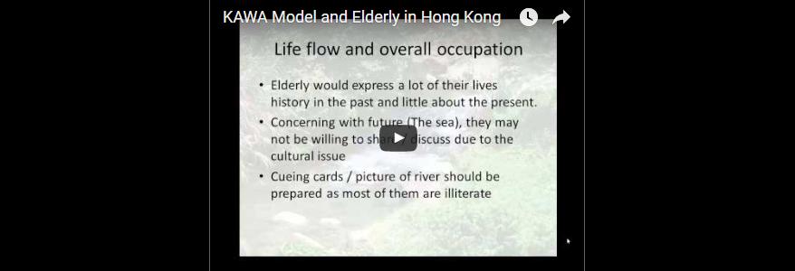 KAWA Model and Elderly in Hong Kong (David Lau)
