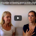 Climbing up a mountain or flowing down a river -a different way of viewing the Kawa model (Evelina Stridh & Carin Andreasson)