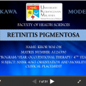 Retinis Pigmentosa Kawa Model Case Study (Khor Wai On)