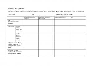Kawa SOAP notes format